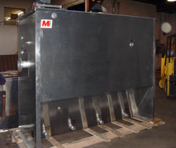 aluminum oil water separator