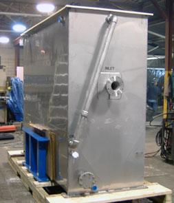 stainless steel oil water separator
