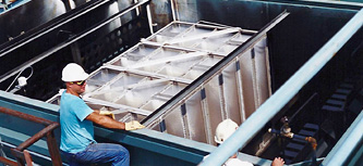Field assembled oil water separators