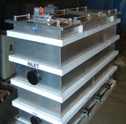 metal oil water separator
