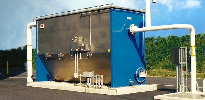 above ground oil water separators
