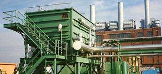double split flow water oil separator