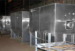 multiple aluminum oil water separators