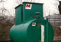 100 gpm below ground oil water separators