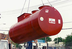 below ground oily water separators