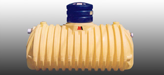 below ground plastic oil water separators
