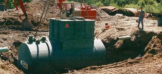 below ground steel oil water separators