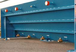 multiple sludge ports in oil water separator