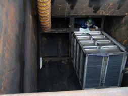 upgrading oil water separators