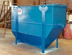 deep bottom oil water separator