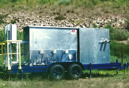 mobile oil and water separators