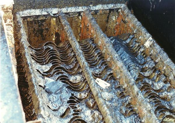 fouled oil/water separators