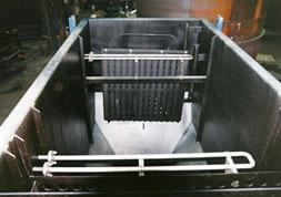 oil water separator flow distribution