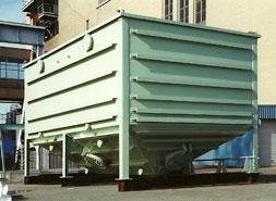 large oil water separator
