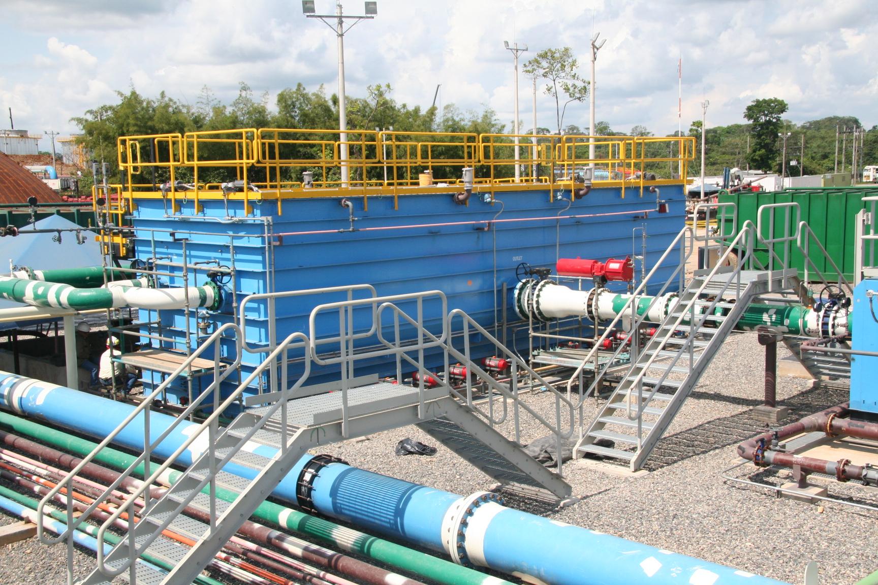 produced water oil water separators
