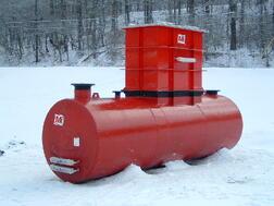 Below Ground Oil Water Separator