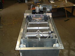 top view of separator