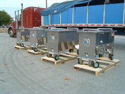 Mobil oil water separators