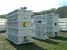 Mobil rental oil water separators